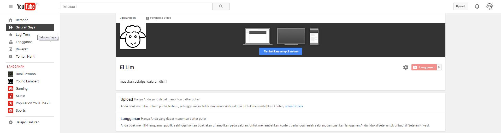 Bagaimana cara membuat channel video sendiri di Youtube
